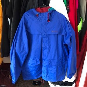 columbia raincoat